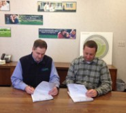 Spring-Green Lawn Care franchisees Ken and Ryan Brown