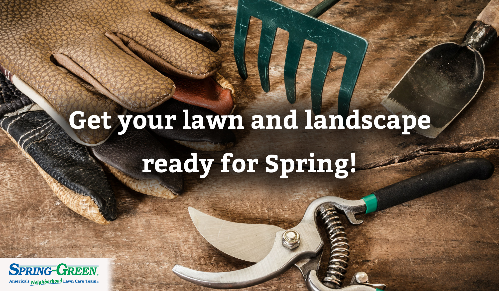 get lawn and landscape ready for spring